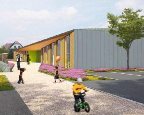 Ecole primaire à Hirtzfelden