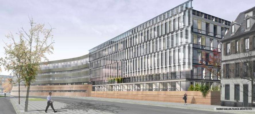 Hotel du département du Bas-Rhin à Strasbourg