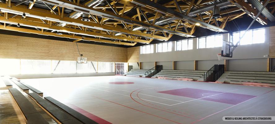 Salle polyvalente de Schirrein Schirhoffen